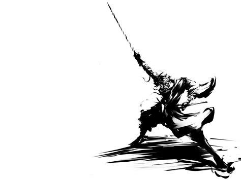 black and white black and white shishio makoto samurai wallpap 2015