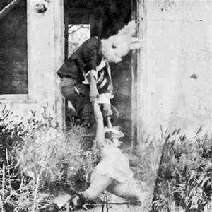 masked man, kidnapper, man dragging girl, dead body, bunny ...