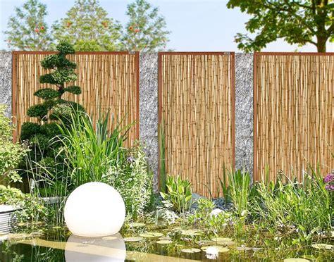 Garten Sichtschutz Bambus Natur by Bambus Sichtschutz Garten Khybermatch