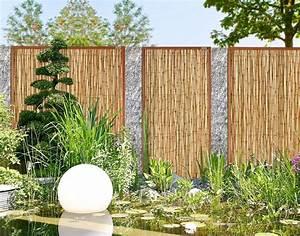bambus sichtschutz garten khybermatchcom With sichtschutz bambus garten