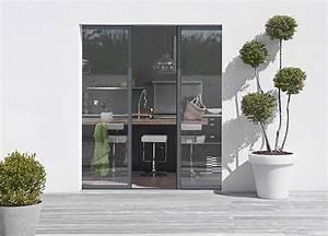 Baie Vitree A Galandage 2 Vantaux : fiche produit la baie vitr e galandage deux vantaux ~ Edinachiropracticcenter.com Idées de Décoration