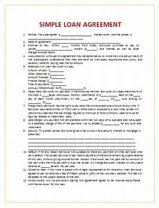 loan agreement format for money lending vatansun With easy loan without documents