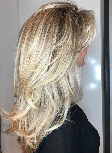 20 Best Ideas of V Cut Layers Hairstyles For Straight