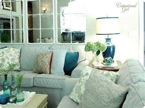 aqua living room colorful living room ideas rustic crafts chic decor