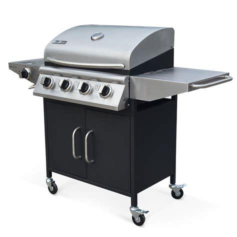 recette cuisine barbecue gaz barbecue à gaz 4 brûleurs cuisine extérieure albert