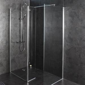 comment bien choisir sa douche comparatif douches With porte de douche coulissante avec support mural salle de bain