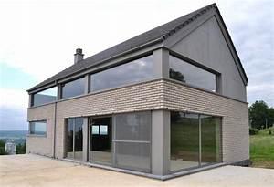 revgercom facade de maison moderne avec balcon idee With plan de maison facade 1 crepis facade maison troyes aube monomur 224 jasseines