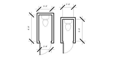 toilet room dimensions minimum 2 6 quot by 5 quot house