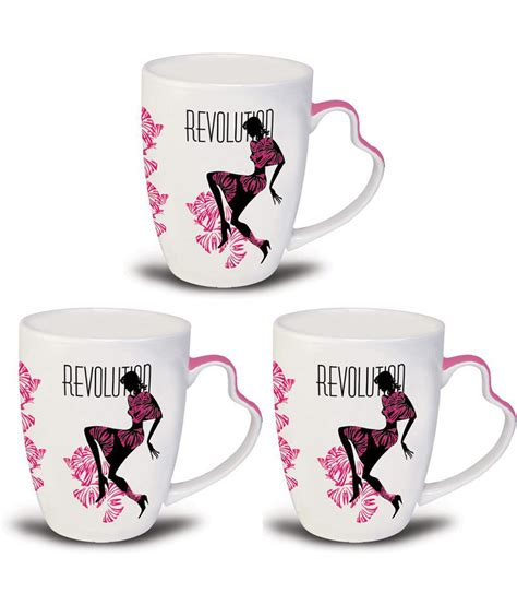 Shop our great selection of coffee cups & mugs & save. Kudos Pink Fashionista Pink Coffee Mugs - Pack Of 3: Buy Online at Best Price in India - Snapdeal