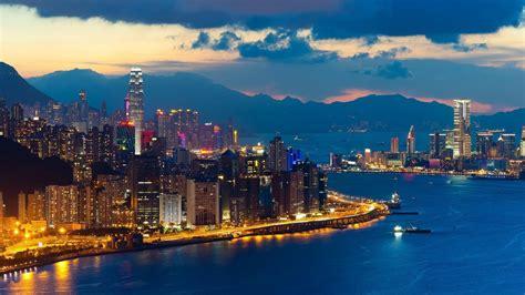 city hong kong  night wallpaper  wallpaperscom