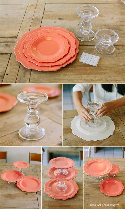 personalized ceramic wedding plates ケーキスタンド 手作り 100均