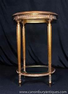 Table D Appoint Doré : tables fran ais empire dor table d 39 appoint occasionnelle ~ Teatrodelosmanantiales.com Idées de Décoration