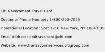 We did not find results for: Citi Government Travel Card Number | Citi Government ...