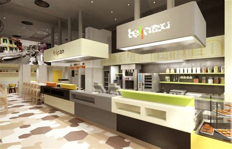 cuisine concept medveczky gothard bellozzo fast food chain store interior