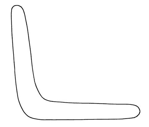 boomerang template boomerang pics clipart best