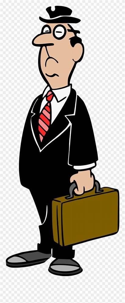 Clipart Businessman Business Clip Colour Transparent Briefcase