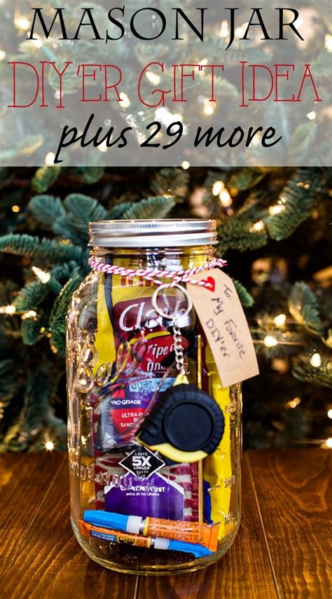 famous mason jar gift ideas  men