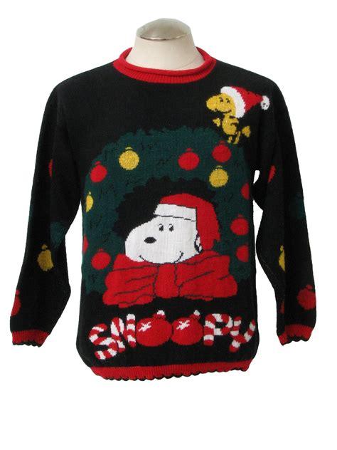 snoopy sweater 1980 39 s retro vintage snoopy sweater 80s