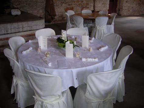 housse de chaise ronde mariage