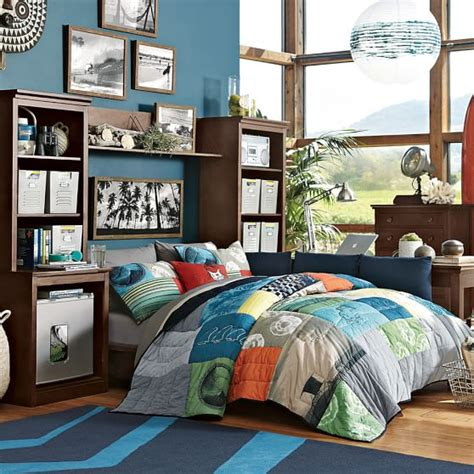 Pottery Barn Surf Bedding by So Cal Surf Quilt Sham Pbteen