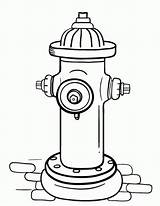 Hydrant Fire Coloring Pages Extinguisher Printable Pdf Drawing Template Colouring Fireman Coloringcafe Print Firefighting Firefighter Sheet Sheets Printables Sam Feuerwehr sketch template