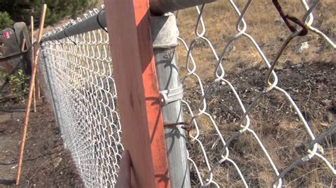 6 chain link fence home improvement tip fast and affordable fence trick