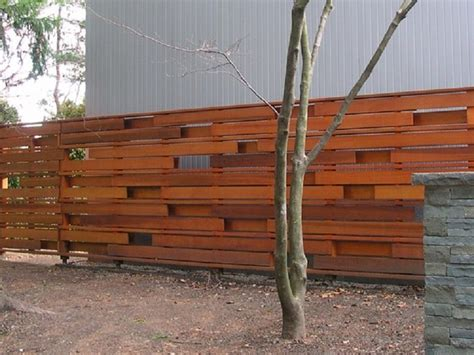 Inexpensive Diy Horizontal Privacy Fence Designs, Privacy