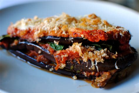 aubergine cuisine aubergine parmigiana lower food to glow
