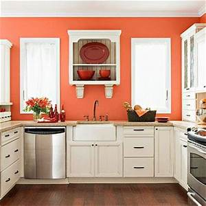 25 best ideas about bright kitchen colors on pinterest With kitchen cabinets lowes with blue coral wall art