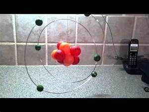 Neon atom model idea Atom ideas Pinterest