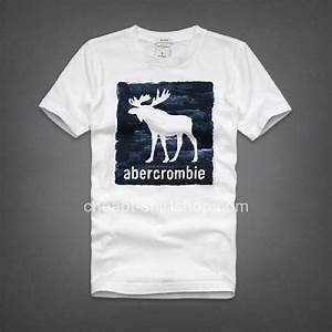 Abercrombie & Fitch White Mens Short Sleeve A&F T-shirts ...