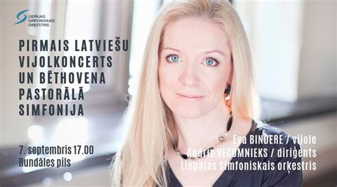 7. septembrī Baltajā zālē Liepājas Simfoniskā orķestra ...