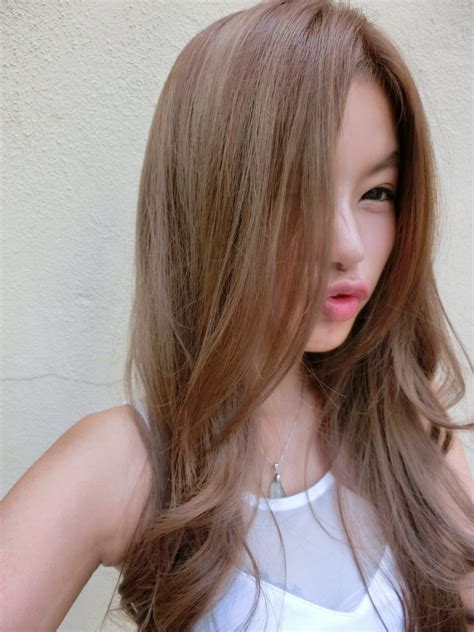 asian girl gray hair google search hairstylecolor