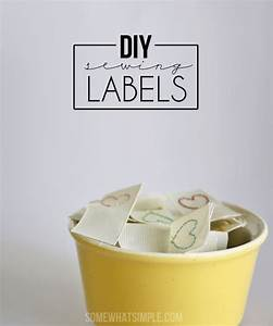 diy sewing labels somewhat simple With diy woven labels