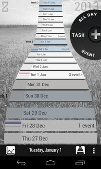 zenday android to do list app with a gesture driven 3d