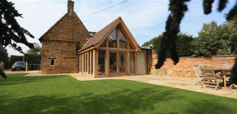 Small Kitchen Design Ideas Pictures - stone cottage oak extension medbourne natural structures