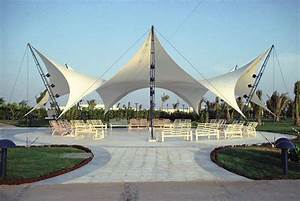 Tent Structures For A Beach Residence At The Red Sea