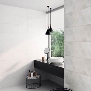 carrelage salle de bain blanc mat 10x10 With carrelage salle de bain blanc mat