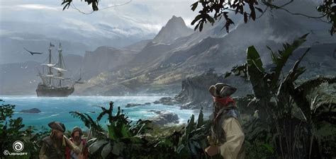 Assassins Creed Iv Black Flag Concept Art By Martin
