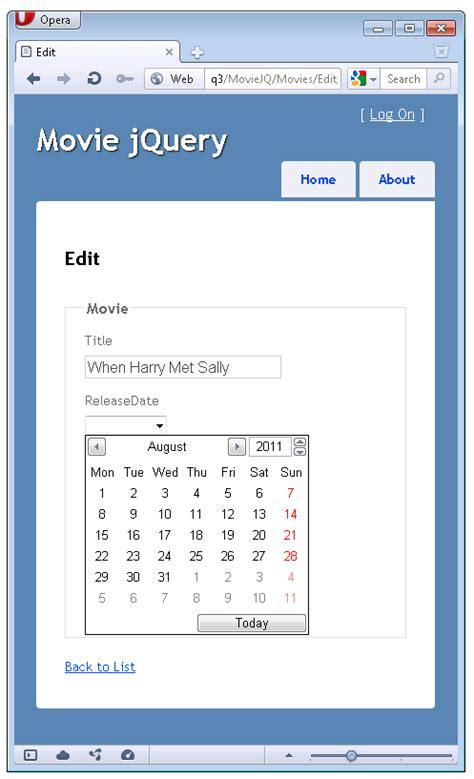 egocube html5 달력 및 jquery ui 날짜선택 팝업 달력 사용하기 파트 4