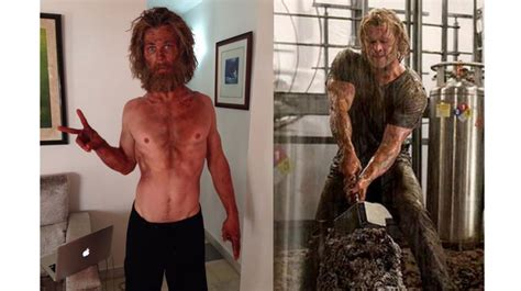 chris hemsworth looks distinctly un thor like for new role