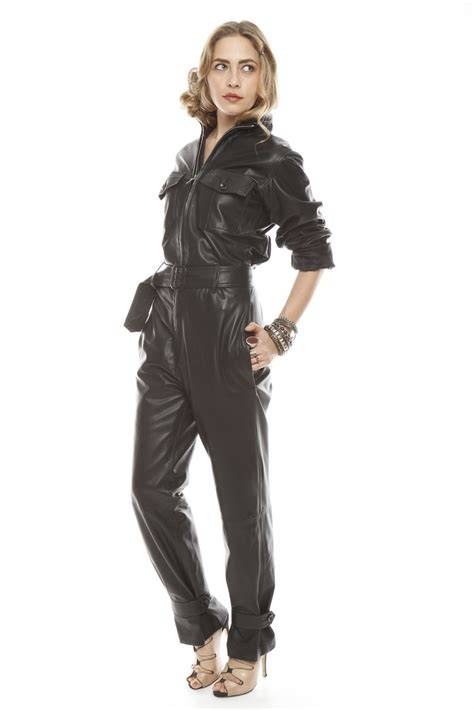 leather jumpsuits castillo leather jumpsuit from east hton