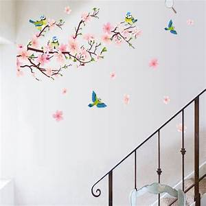 flower wall stickers for bedrooms peenmediacom With flower wall decals