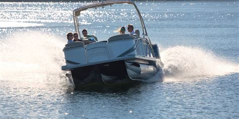 Pontoon Boats For Sale Haliburton by Sylvan Mandalay 8525 Sportlounger Boat Review