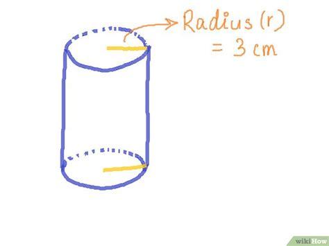 die oberflaeche eines zylinders berechnen wikihow