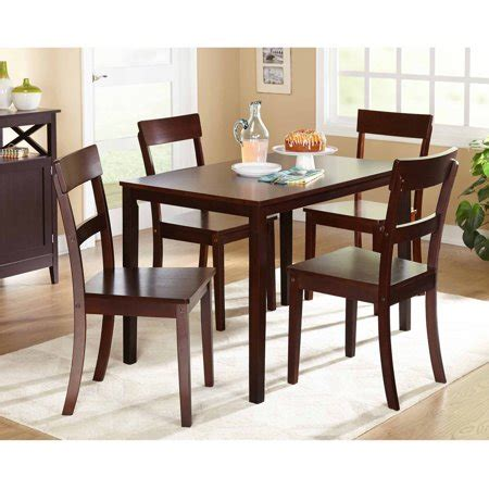 Dining Room Sets Cheap by Beverly 5 Dining Set Finishes Walmart