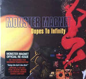 monster magnet dopes  infinity cd album deluxe