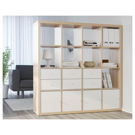 Ikea Kallax Tür Einbauen by Ikea Kallax 16 Cube Storage Bookcase Square Shelving Unit