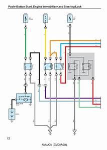 Toyota Avalon Wiring Diagrams