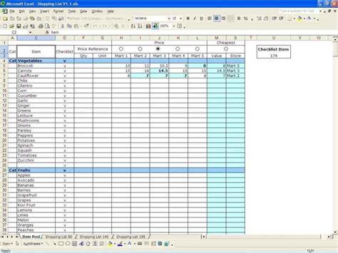 spreadsheet template excel excelxocom